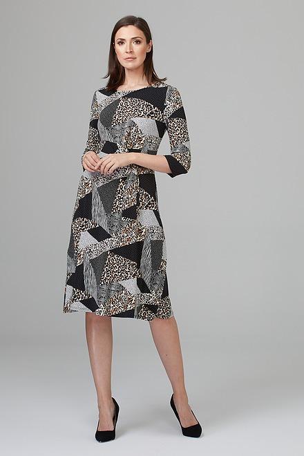Joseph Ribkoff Black/Multi Dresses Style 201286