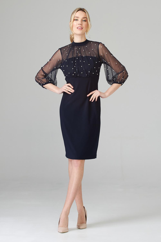 Joseph Ribkoff Midnight Blue 40 Dresses Style 201291