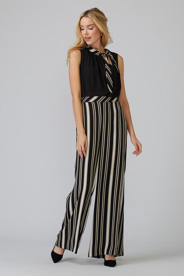 Joseph Ribkoff Pantalons Noir/Blanc/Or Style 201311