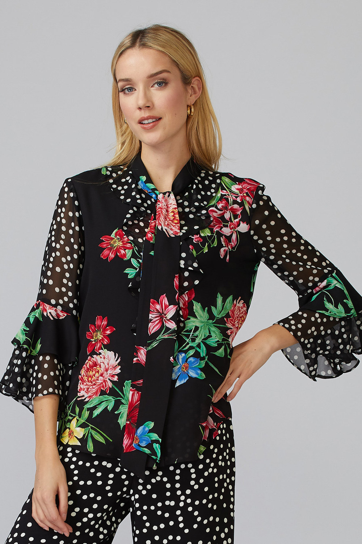 Joseph Ribkoff Chemises et blouses Noir/Multi Style 201323