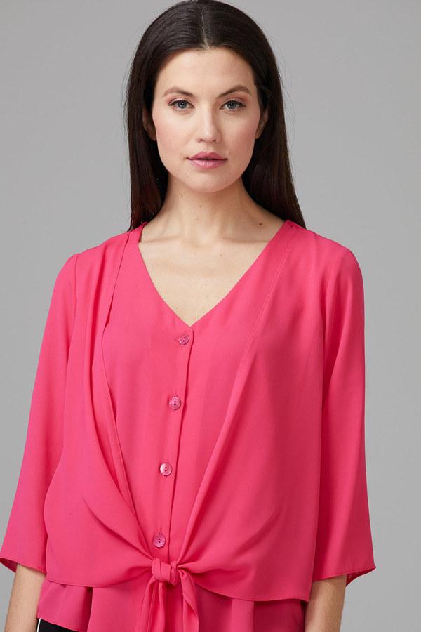 Joseph Ribkoff Chemises et blouses Rose Vif Style 201336