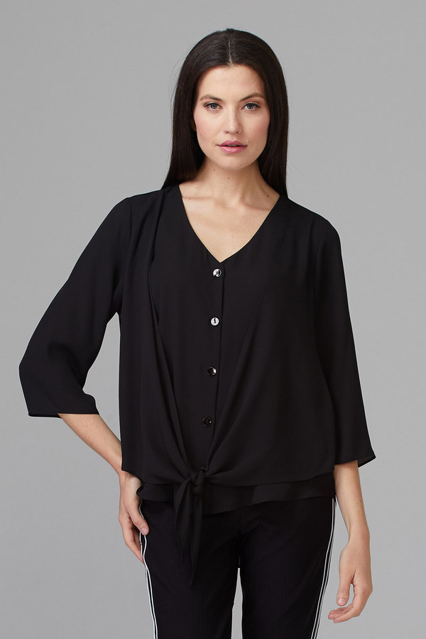 Joseph Ribkoff Black Shirts & Blouses Style 201336