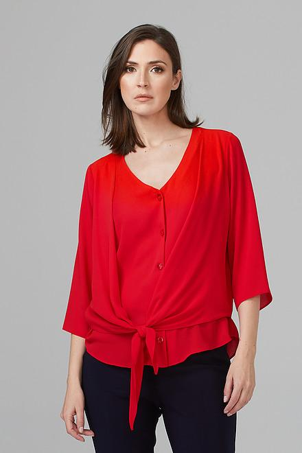 Joseph Ribkoff Chemises et blouses Rouge A Levres 173 Style 201336