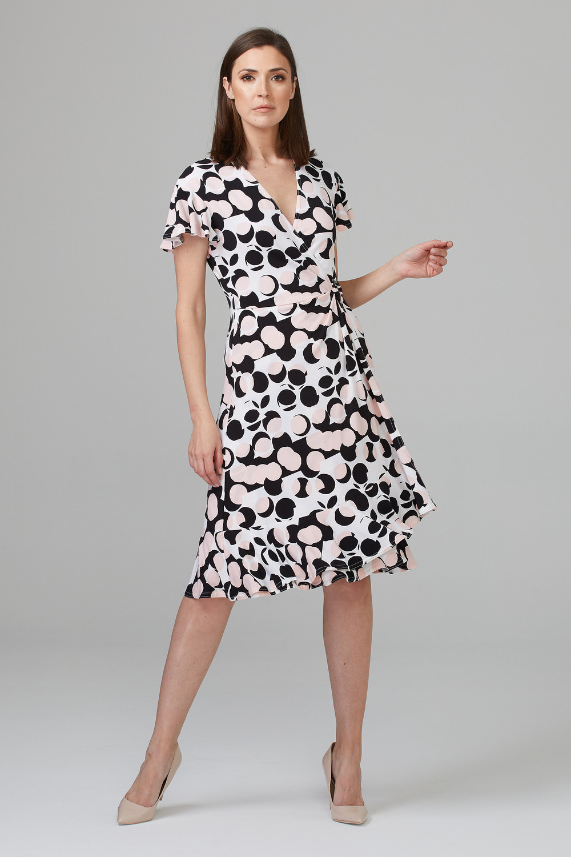 Joseph Ribkoff Vanilla/Black Dresses Style 201344