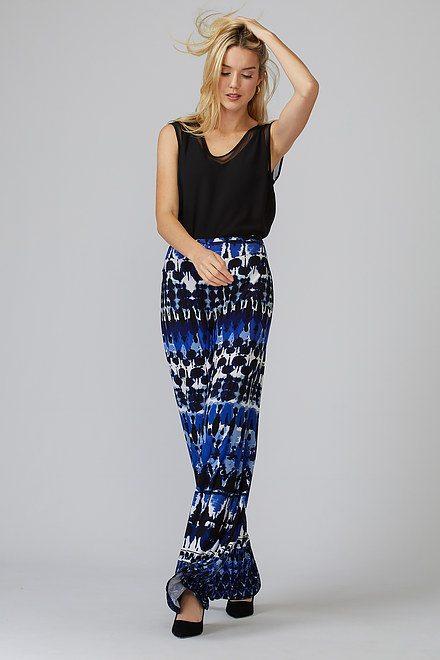 Joseph Ribkoff Pantalons Bleu/Noir Style 201357