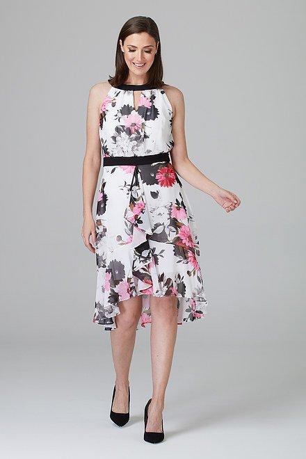 Joseph Ribkoff Robes Blanc/Multi Style 201359