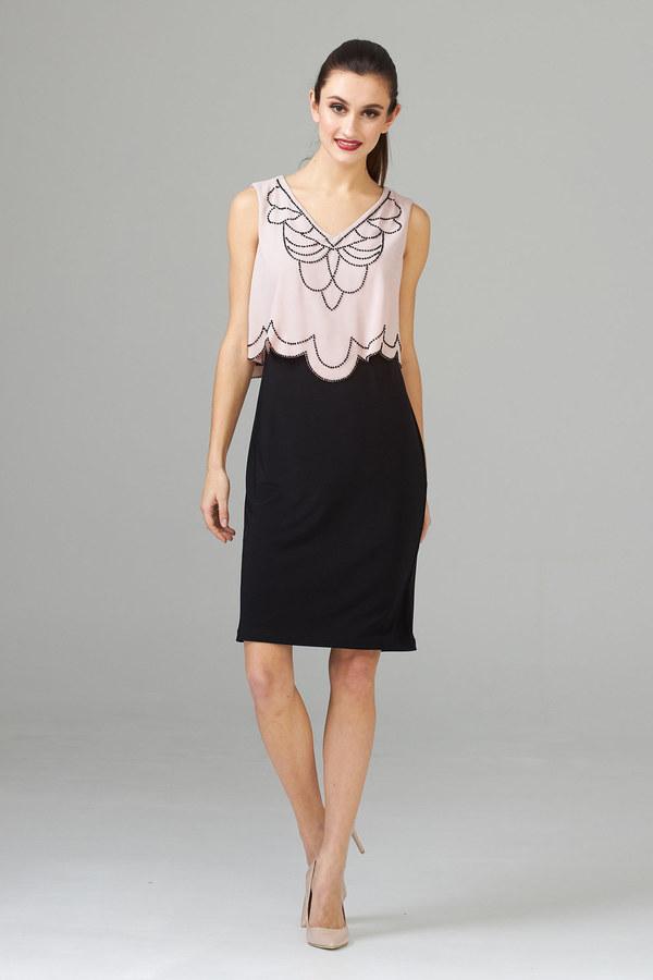 Joseph Ribkoff Rose Dresses Style 201361