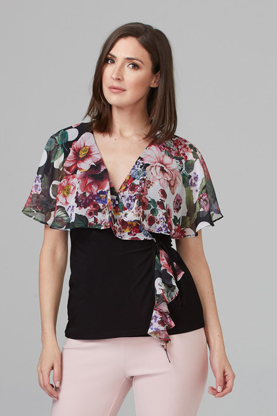 Joseph Ribkoff Chemises et blouses Noir/Multi Style 201363