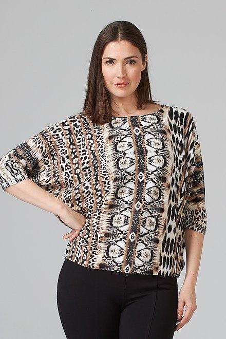 Joseph Ribkoff Multi Shirts & Blouses Style 201371