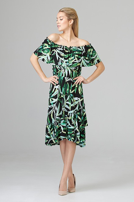 Joseph Ribkoff Black/Multi Dresses Style 201372