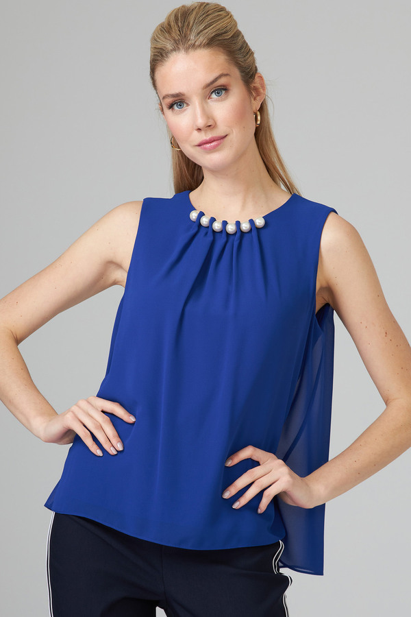 Joseph Ribkoff Royal Sapphire 163 Shirts & Blouses Style 201375