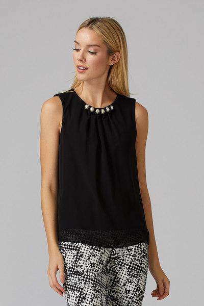 Joseph Ribkoff Black Shirts & Blouses Style 201375