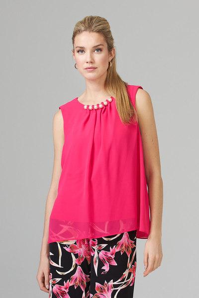 Joseph Ribkoff HYPER PINK Shirts & Blouses Style 201375