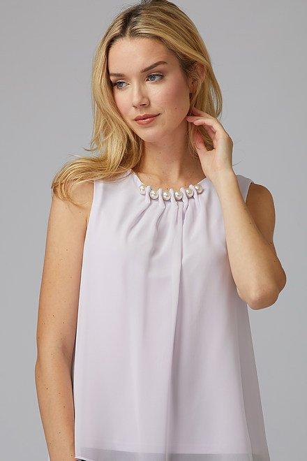 Joseph Ribkoff Chemises et blouses Brume Lavande Style 201375
