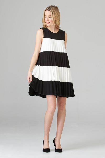 Joseph Ribkoff Robes Noir/Blanc Style 201402
