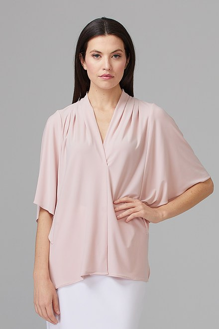 Joseph Ribkoff Rose Shirts & Blouses Style 201409