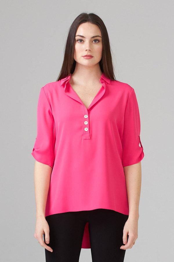 Joseph Ribkoff HYPER PINK Shirts & Blouses Style 201412