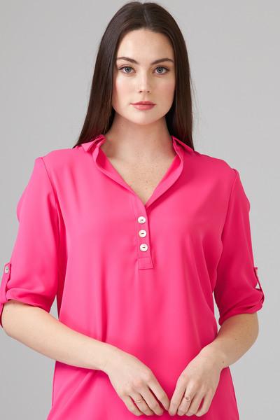 Joseph Ribkoff Chemises et blouses Rose Vif Style 201412