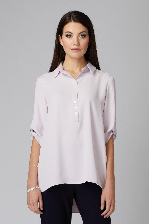 Joseph Ribkoff LAVENDER FOG Shirts & Blouses Style 201412