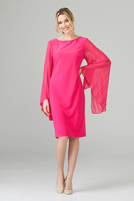 Joseph Ribkoff Robes Rose Vif Style 201417
