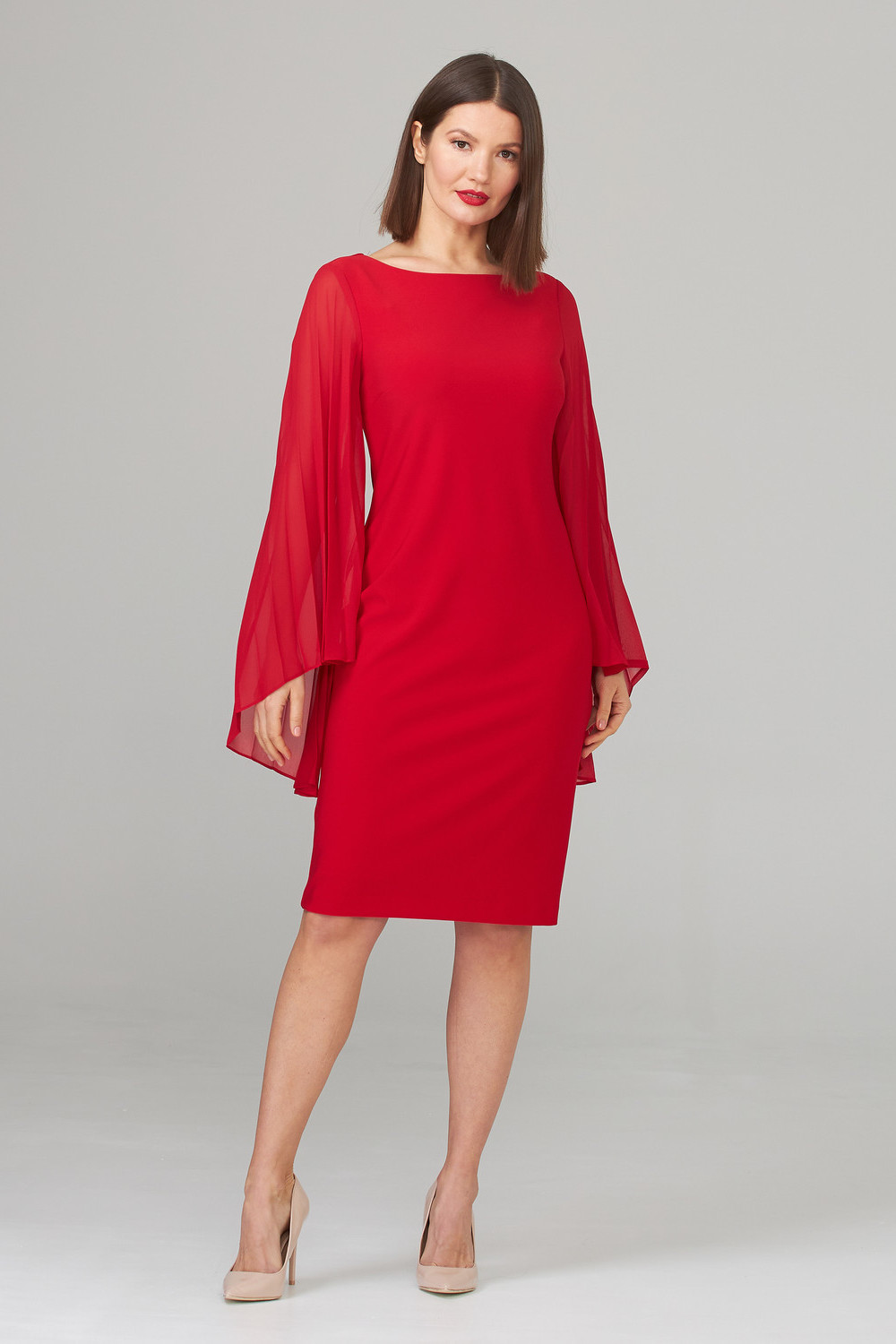 Joseph Ribkoff Robes Rouge A Levres 173 Style 201417