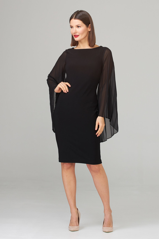 Joseph Ribkoff Black Dresses Style 201417