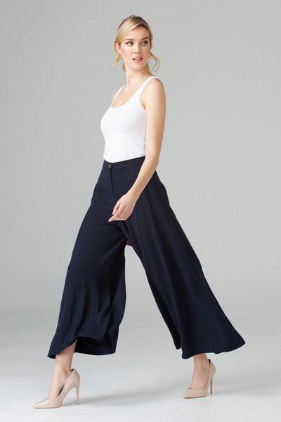 Joseph Ribkoff Pantalons Bleu Minuit 40 Style 201424
