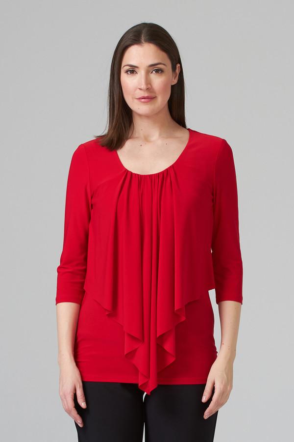 Joseph Ribkoff Lipstick Red 173 Tees & Camis Style 201428