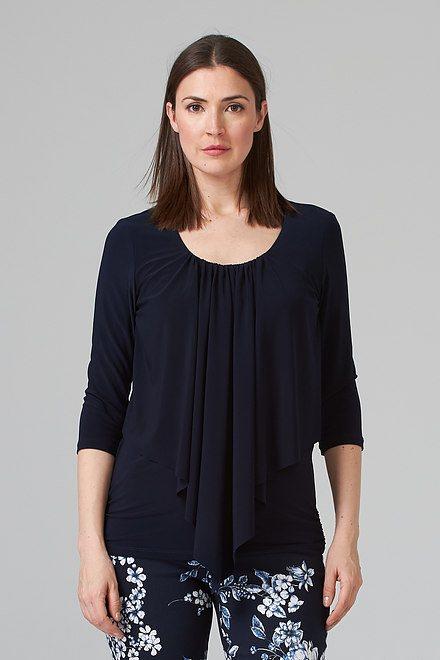 Joseph Ribkoff Midnight Blue 40 Tees & Camis Style 201428