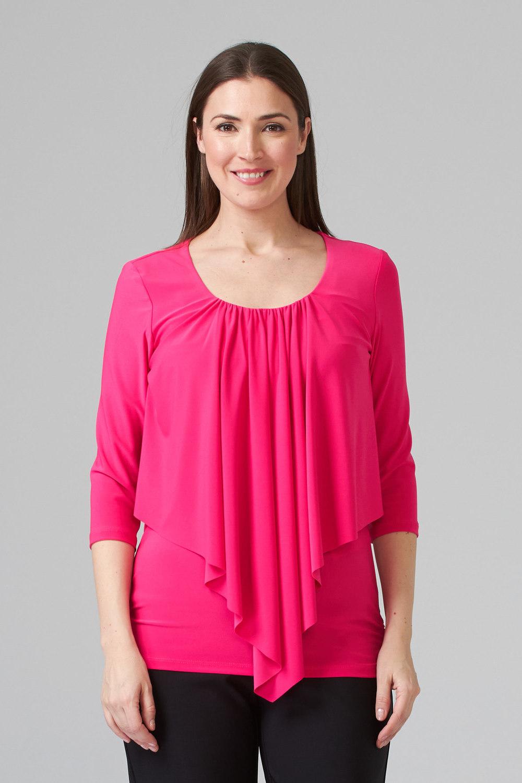 Joseph Ribkoff Tee-shirts et camisoles Rose Vif Style 201428