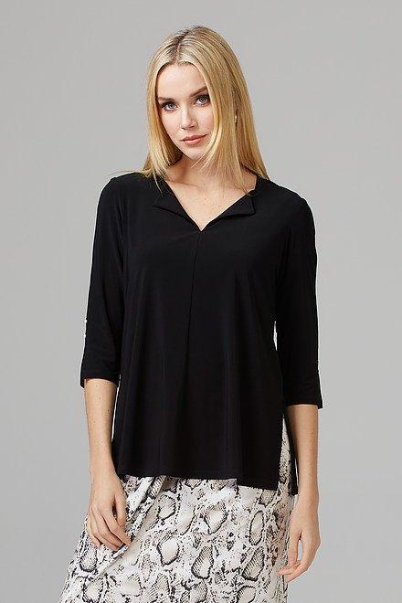 Joseph Ribkoff Tee-shirts et camisoles Noir Style 201431