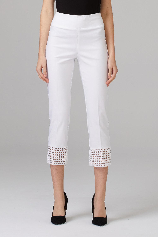 Joseph Ribkoff Pantalons Blanc Style 201437