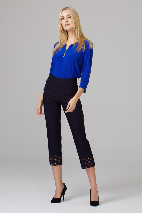 Joseph Ribkoff Pantalons Bleu Minuit 40 Style 201437
