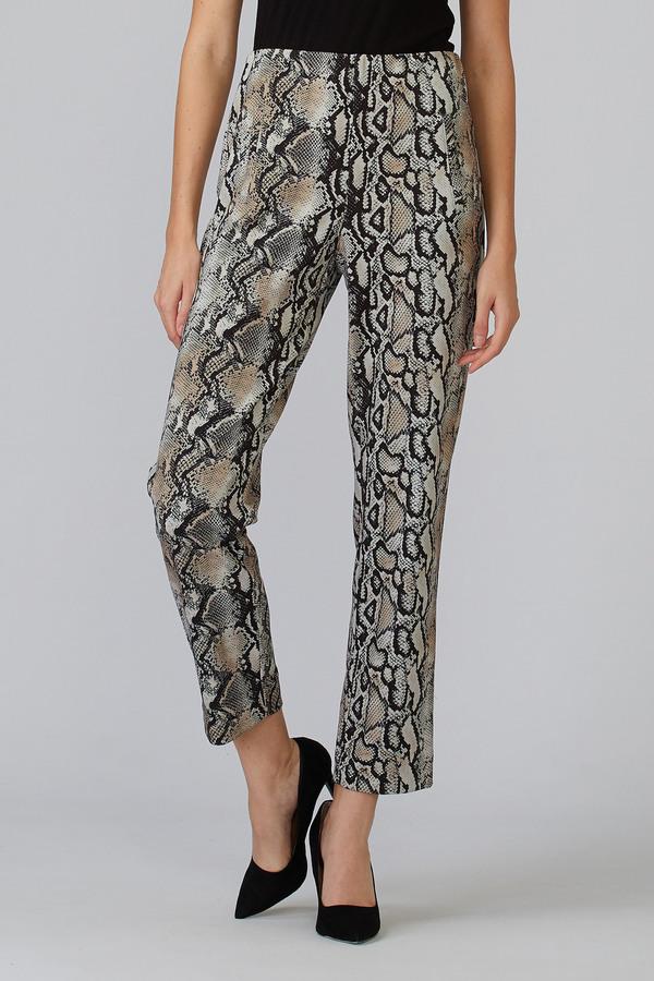 Joseph Ribkoff Pantalons Beige/Noir Style 201441