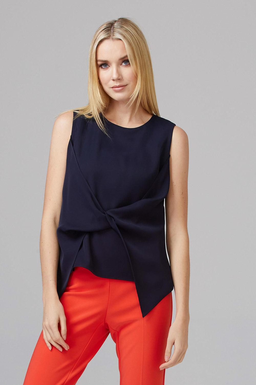 Joseph Ribkoff Tee-shirts et camisoles Bleu Minuit 40 Style 201442