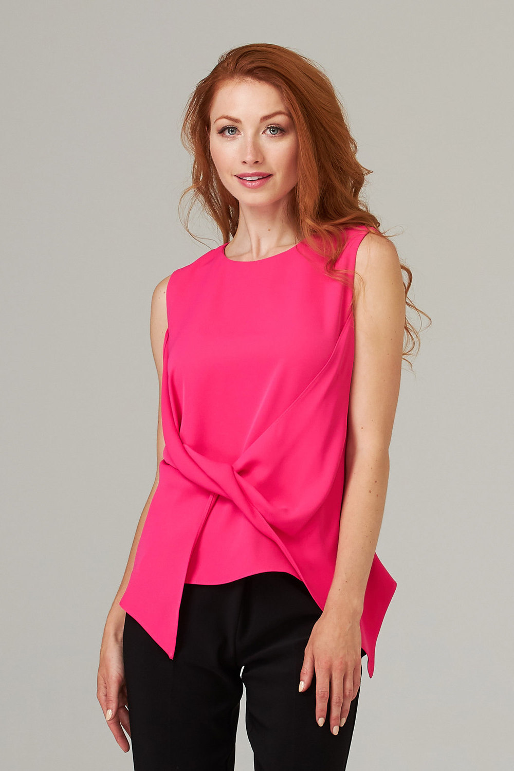 Joseph Ribkoff HYPER PINK Tees & Camis Style 201442