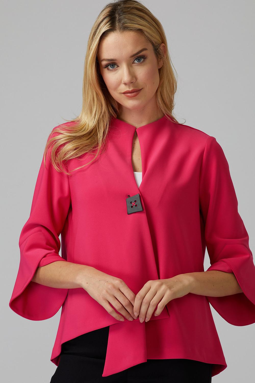 Joseph Ribkoff Vestes Rose Vif Style 201444