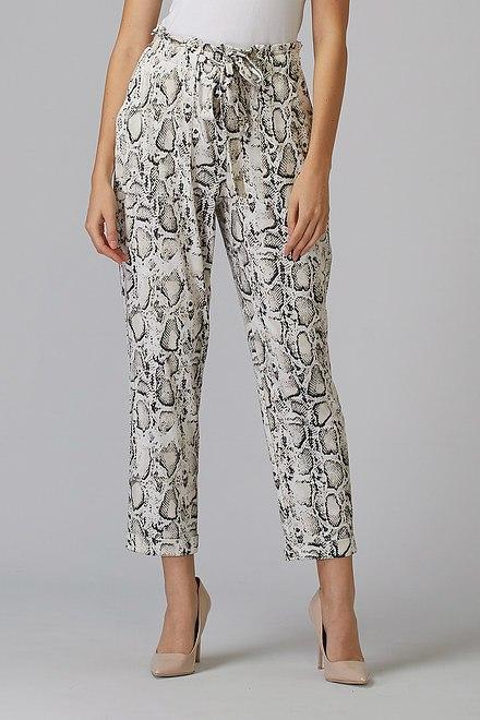 Joseph Ribkoff Pantalons Beige/Noir Style 201445