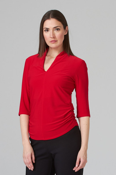 Joseph Ribkoff Lipstick Red 173 Tees & Camis Style 201467