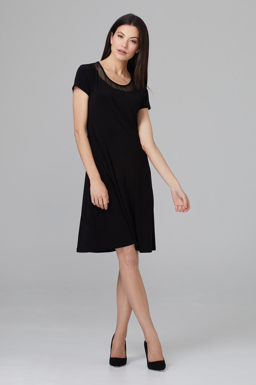 Joseph Ribkoff Black Dresses Style 201468