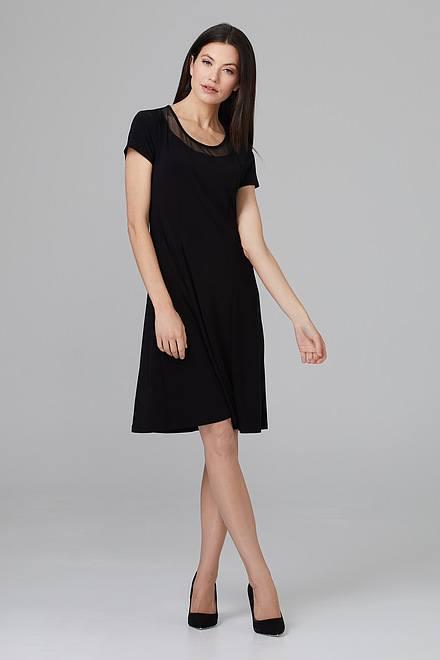 Joseph Ribkoff Robes Noir Style 201468