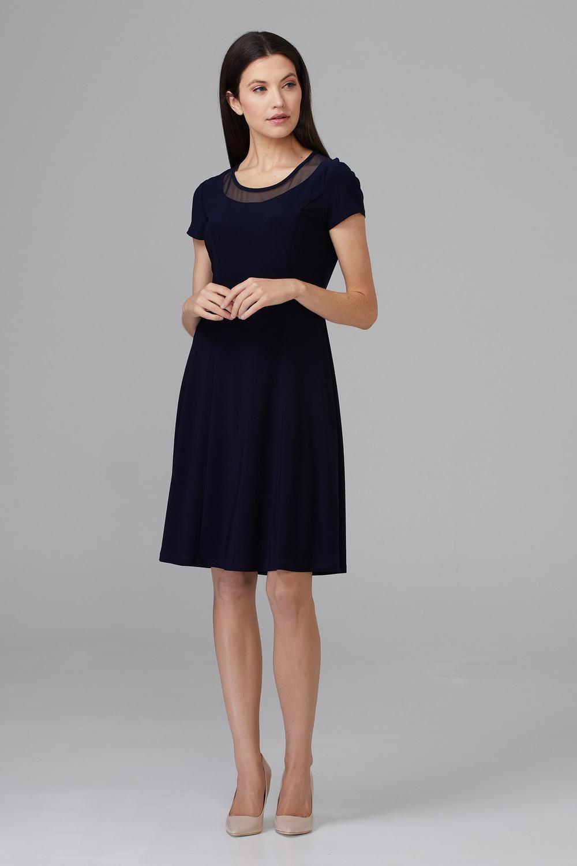 Joseph Ribkoff Robes Bleu Minuit 40 Style 201468