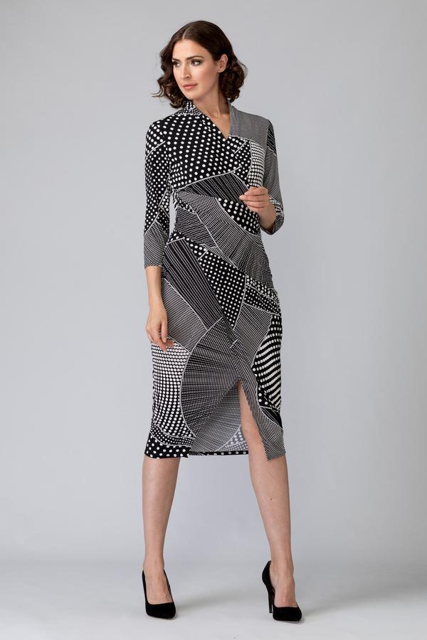 Joseph Ribkoff Black/White Dresses Style 201470