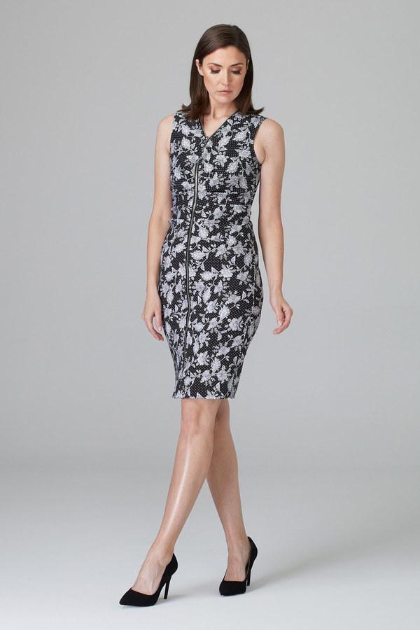Joseph Ribkoff Black/White Dresses Style 201472