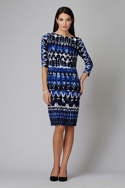 Joseph Ribkoff Blue/Black Dresses Style 201473