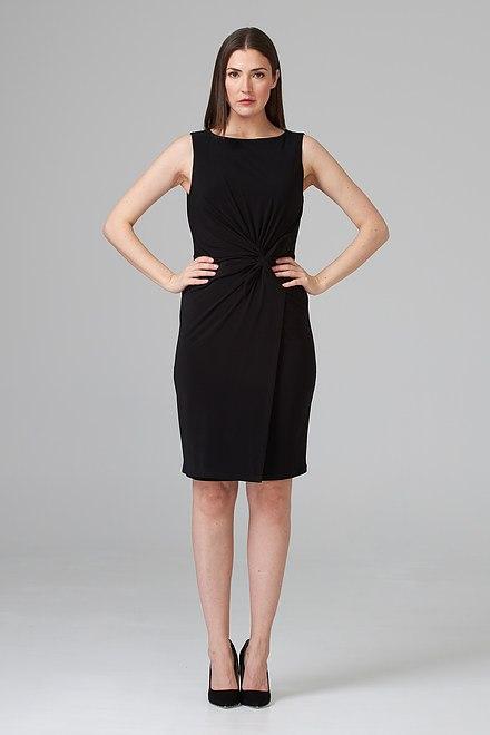 Joseph Ribkoff Black Dresses Style 201476