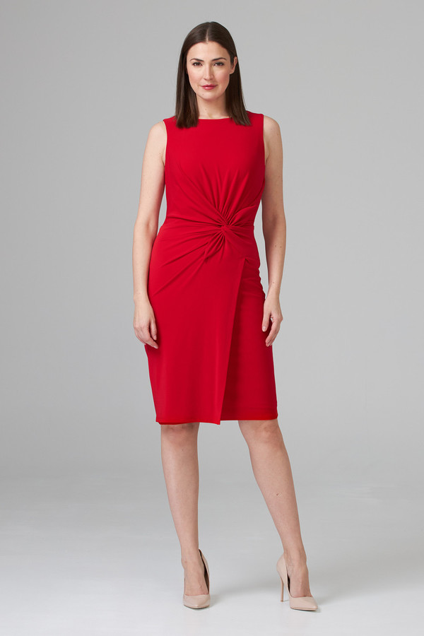 Joseph Ribkoff Lipstick Red 173 Dresses Style 201476