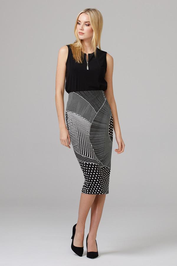 Joseph Ribkoff Black/White Skirts Style 201480