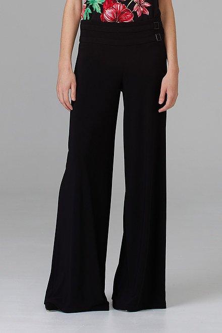 Joseph Ribkoff Pantalons Noir Style 201482