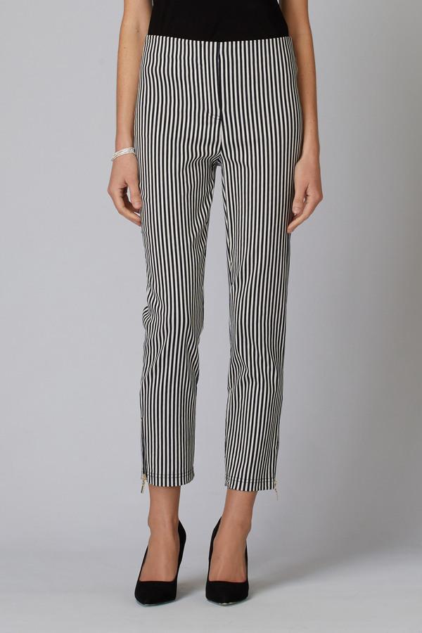 Joseph Ribkoff Pantalons Bleu Marine/Blanc Cassé Style 201485